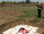 Reburial of remains 4-11-11