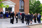 Reburial Service at St. Lukes 5-5-11
