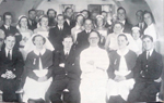 Operating Theatre Staff who served at Haslar during WWII